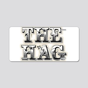 THE HAG Aluminum License Plate