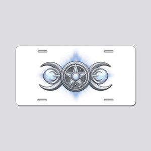Moonstone Triple Goddess Aluminum License Plate