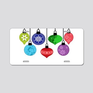 Christmas Ornaments Aluminum License Plate