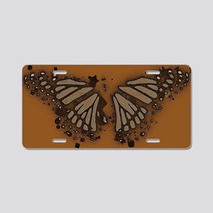 Butterfly wings.© Aluminum License Plate