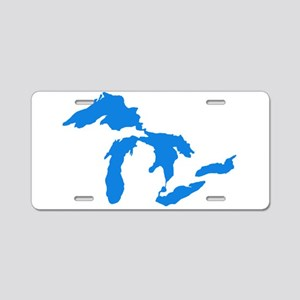 Great Lakes Usa Amerikan Bi Aluminum License Plate