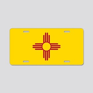 Flag of New Mexico Aluminum License Plate
