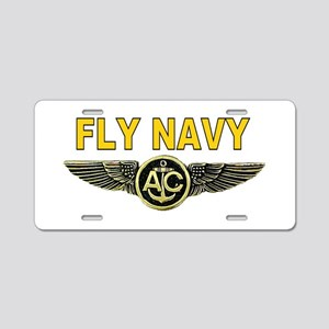 US Navy Aircrew Aluminum License Plate