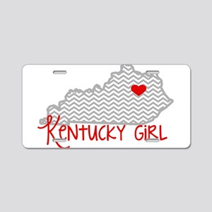 KY Girl Aluminum License Plate