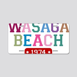 Wasaga Beach 1974 Aluminum License Plate