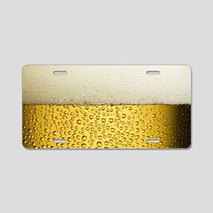 Suds Aluminum License Plate