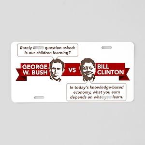 George Clinton Aluminum License Plates - CafePress