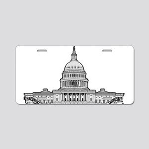 Washington D C Metro Aluminum License Plates - CafePress