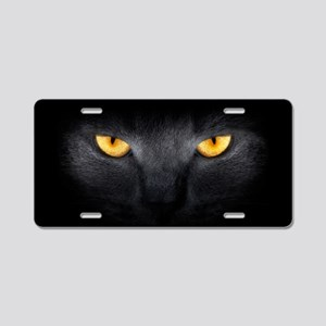 Cat Eyes Aluminum License Plate
