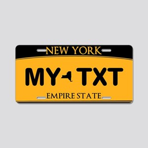 New York Empire State License Plate