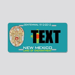 New Mexico Firefighter Custom License Plate