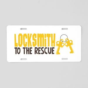 Locksmith Aluminum License Plates - CafePress