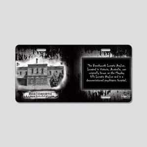 Beechworth Lunatic Asylum H Aluminum License Plate