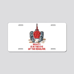 Old Tractor Love Aluminum License Plate