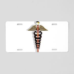 Hermes Aluminum License Plates - CafePress