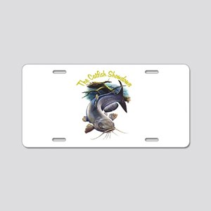 Catfish Aluminum License Plates - CafePress