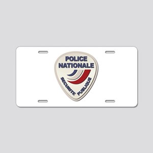 Police Nationale France Pol Aluminum License Plate