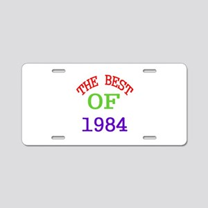 The Best Of 1984 Aluminum License Plate
