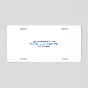 Funny Sound Engineer Aluminum License Plates - CafePress
