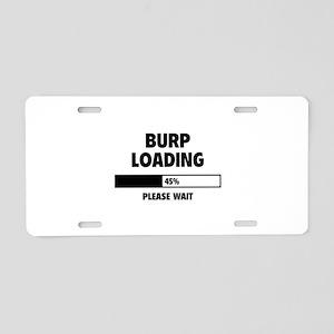 Burp Aluminum License Plates - CafePress