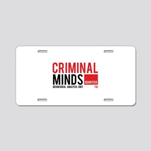 Criminal Minds Aluminum License Plate