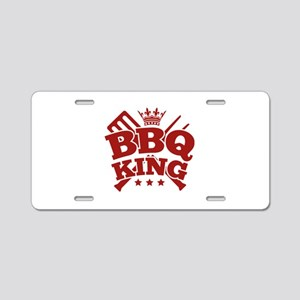 BBQ KING Aluminum License Plate