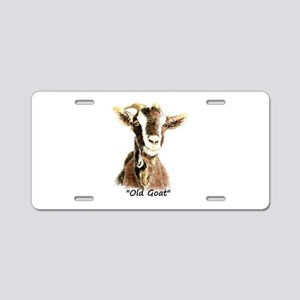 "Old Goat Fun ""Over the Hill Aluminum License Plate"