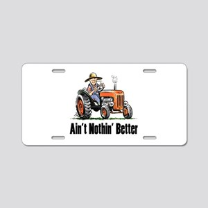 Antique Tractor Aluminum License Plates - CafePress