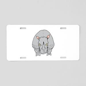 Rhino Aluminum License Plates - CafePress