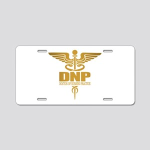 DNP gold Aluminum License Plate