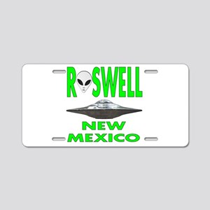Roswell New Mexico Aluminum License Plate