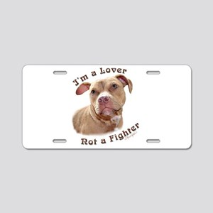 I'm a Lover Aluminum License Plate