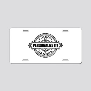 personalized poison Aluminum License Plate