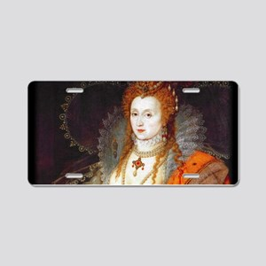 Queen Elizabeth I Aluminum License Plate