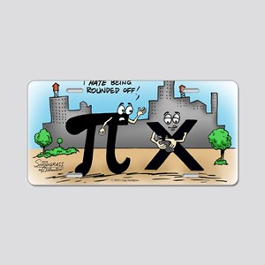 Pi_59 Twitter (10x10 Color) Aluminum License Plate