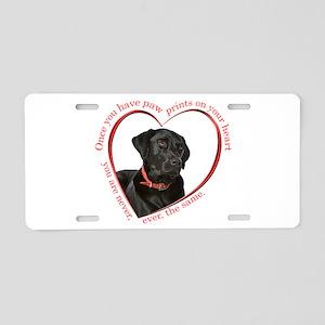Labrador Retriever Aluminum License Plates - CafePress