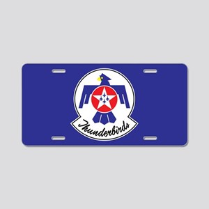 USAF Thunderbirds Emblem Aluminum License Plate