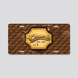 cheers Aluminum License Plate