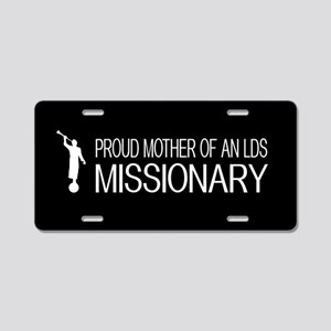 LDS: Proud Missionary Mother (Black) Aluminum Lice