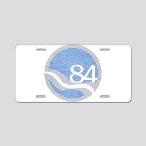 84 Worlds Fair Aluminum License Plate