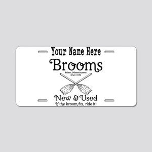 New & used Brooms Aluminum License Plate