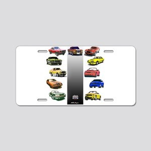 Mustang Gifts Aluminum License Plate