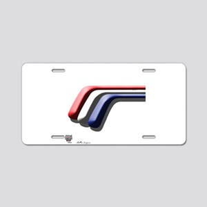 Mustang Deluxe 2 Sides Aluminum License Plate