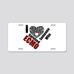 ECMO01 Aluminum License Plate
