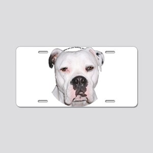 American Bulldog copy Aluminum License Plate