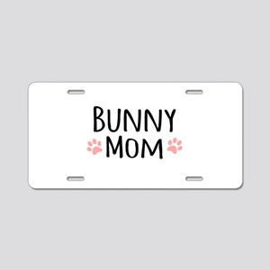 Bunny Mom Aluminum License Plate
