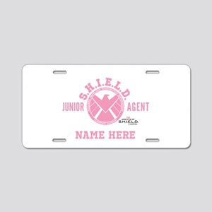 Pink Personalized Junior SH Aluminum License Plate