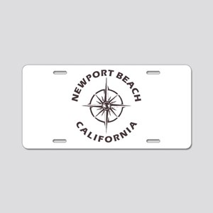 California - Newport Beach Aluminum License Plate