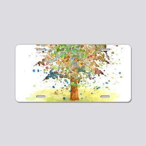 Landscape 466 Tree Aluminum License Plate