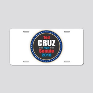 Ted Cruz Aluminum License Plate